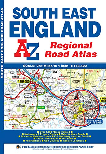 South East England Regional Road Atlas: Geographers' A-Z Map Company
