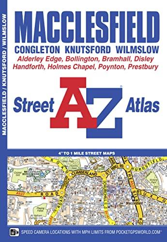 9781843488163: Macclesfield A-Z Street Atlas (London Street Atlases)