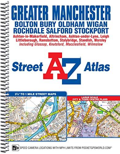 9781843488217: A-Z Greater Manchester Spiral (A-Z Street Atlas)