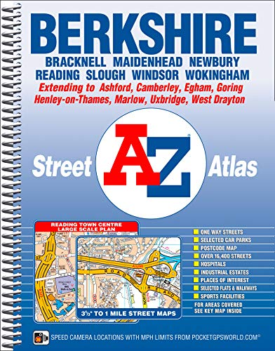 A-Z Berkshire (A-Z County Atlas) (1843488256) by Geographers' A-Z Map Company