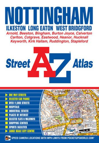 Nottingham A-Z Street Atlas: Geographers' A-Z Map Co Ltd
