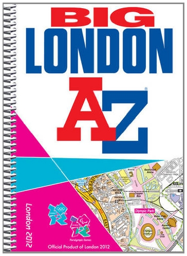 9781843488392: Big London 2012 Street Atlas (London Street Atlases)