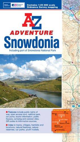 Snowdonia Adventure Atlas: Geographers' A-Z Map Company