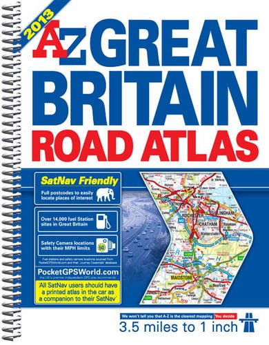 9781843488637: Great Britain Road Atlas (A-Z) (A-Z Road Atlas)