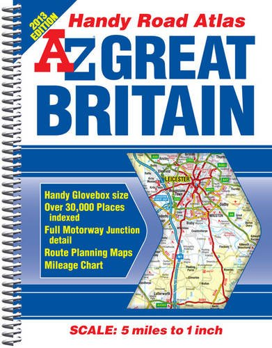 Great Britain Handy Road Atlas (A-Z Road: Geographers' A-Z Map
