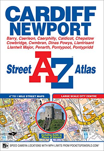 9781843488668: Cardiff & Newport Street Atlas (A-Z Street Atlas S)