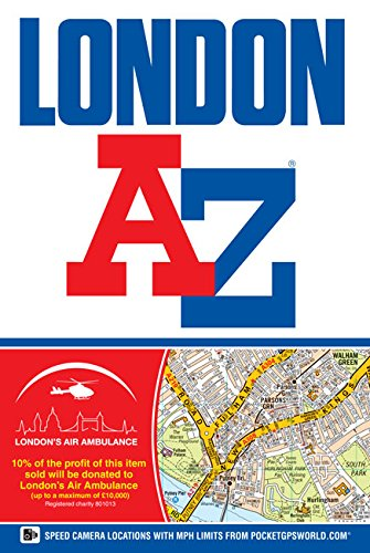 9781843488835: London Street Atlas (A-Z Street Atlas) 2014