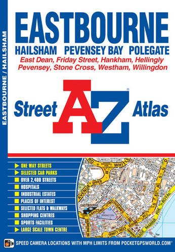 Eastbourne Steet Atlas (Street Atlas): Geographers A-Z Map Company