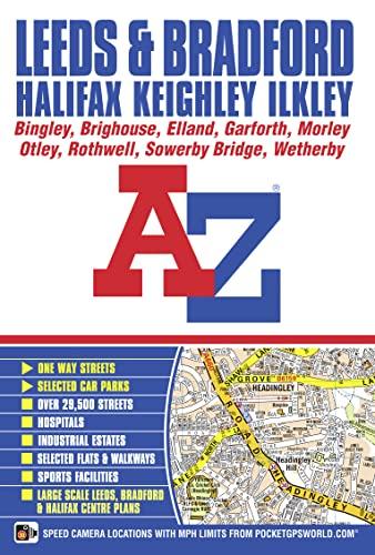 Leeds & Bradford A-Z Street Atlas: Geographers' A-Z Map Co Ltd