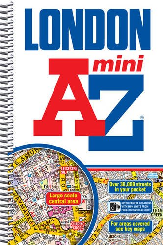 9781843489061: Mini London Street Atlas