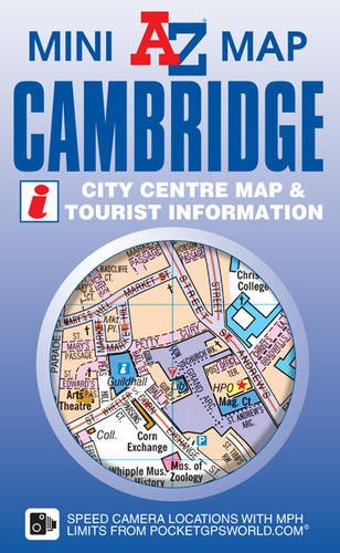 Cambridge Mini Map: Geographers A-z Map