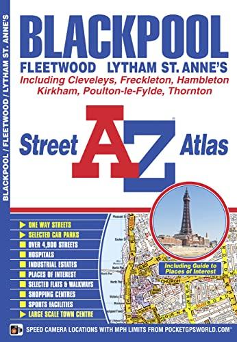Blackpool Street Atlas (A-Z Street Atlas) (1843489309) by Geographers' A-Z Map Company