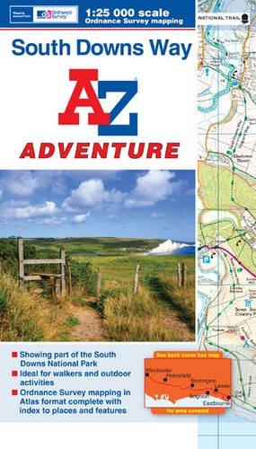 South Downs Way Adventure Series (Adventure Atlas): Geographers A-Z Map Co Ltd