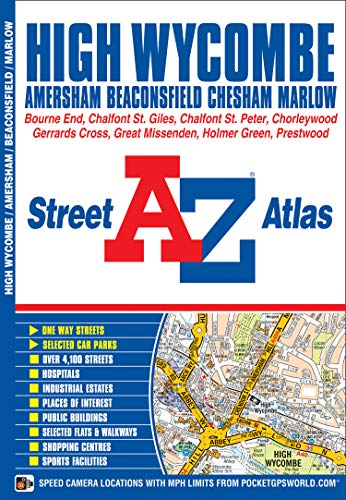 High Wycombe Street Atlas (A-Z Street Atlas): Geographers A-Z Map Co Ltd