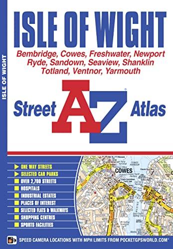 Isle of Wight Street Atlas: Geographers' A-Z Map Company