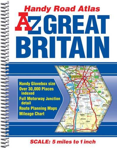 Great Britain Handy Road Atlas 2014 (A-Z: Geographers A-Z Map