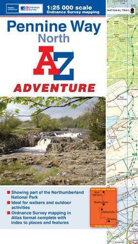 9781843489603: Penine Way (North) Adventure Atlas 1:25K A-Z (A-Z Adventure Atlas)