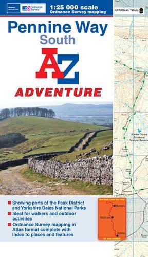 9781843489610: Penine Way (South) Adventure Atlas 1:25K A-Z (A-Z Adventure Atlas)