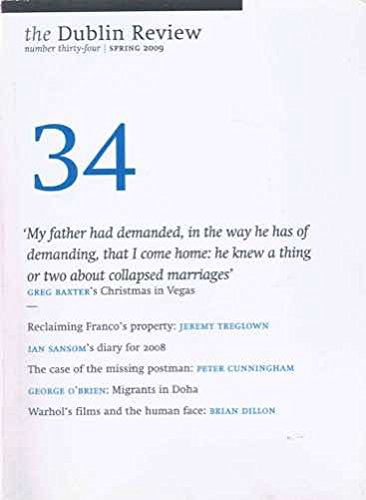 The Dublin Review, No: 35 (Summer 2009): Brendan Barrington (Editor)
