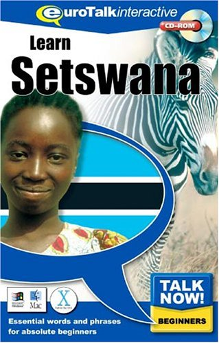 9781843520344: Talk Now! Learn Setswana: Essential Words and Phrases for Absolute Beginners