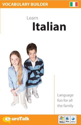 Vocabulary Builder Learn Italian (Italian and English Edition)