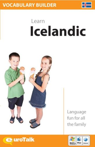 9781843527367: Vocabulary Builder Learn Icelandic (English and Icelandic Edition)