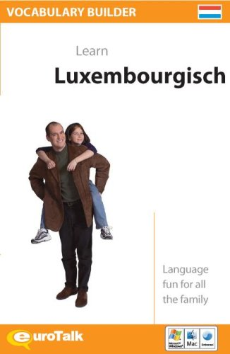 9781843528029: Vocabulary Builder Learn Luxembourgisch