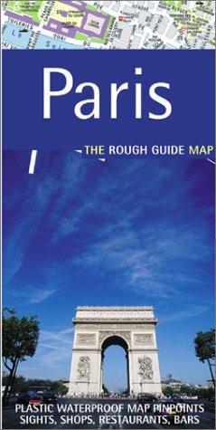 9781843530398: The Rough Guide to Paris Map (Rough Guide City Maps)