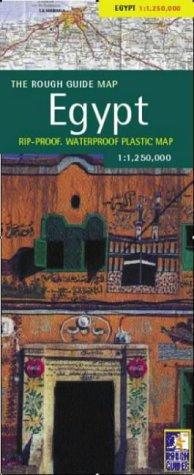 9781843532101: The Rough Guide to Egypt Map (Rough Guide Country/Region Map)