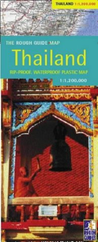 9781843532163: The Rough Guide to Thailand Map (Rough Guide Country/Region Map)