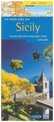 9781843533115: The Rough Guide to Sicily Region Map (Rough Guide Country/Region Map)