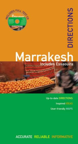 The Rough Guides' Marrakesh Directions 1 (Rough: Jacobs, Daniel, Rough