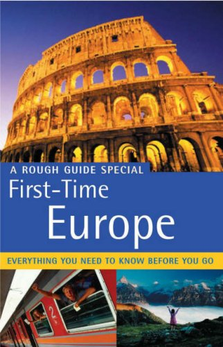 9781843534075: The Rough Guide to First-Time Europe - Edition 6