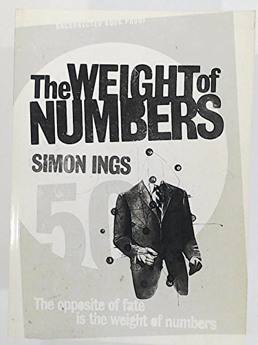 9781843544630: The Weight of Numbers