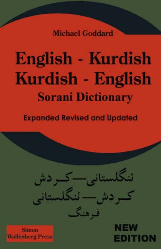 English Kurdish, Kurdish English Dictionary: Goddard, M.