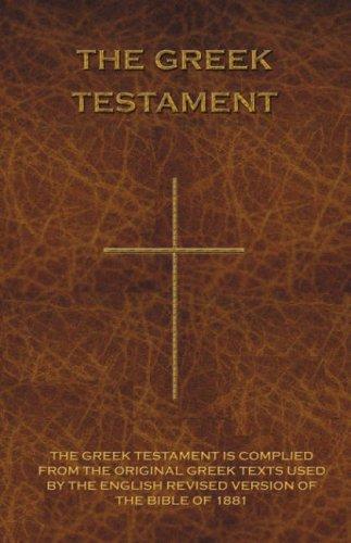9781843560234: The Greek Testament: Novum Testamentum Graece