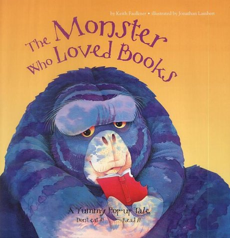 9781843570479: The Monster Who Loved Books (Childrens Activity)