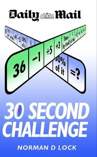 9781843585060: Daily Mail 30 Second Challenge: The Original Brain Trainer