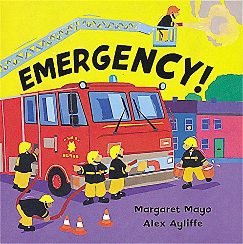 9781843621423: Emergency!: Board Book (Awesome Engines)