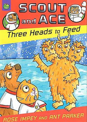 9781843621690: Three Heads to Feed (Scout & Ace)