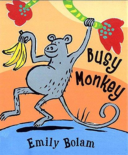 9781843626442: Busy Monkey (Little Orchard Board Book)