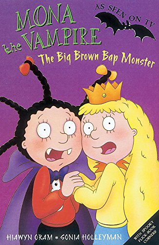 9781843628156: Mona The Vampire And The Big Brown Bap Monster (Mona The Vampire: S C)