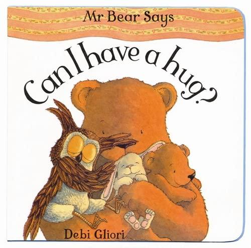 9781843629344: Mr Bear: Can I Have A Hug?