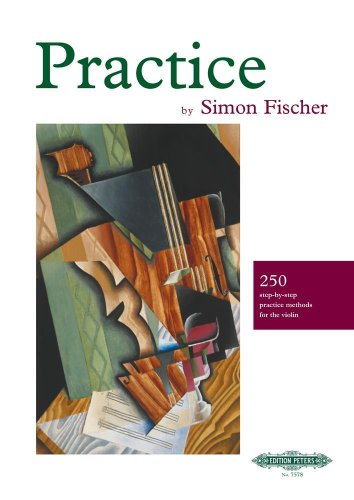 9781843670087: Practice (250 step-by-step practice methods for the violin)