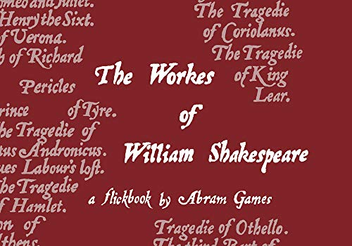 9781843681373: The Shakespeare Flipbook: Comedies, Histories and Tragedies of William Shakespeare