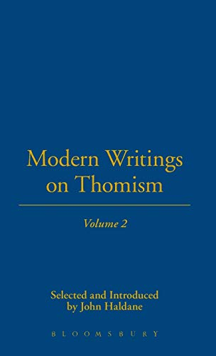 Modern Writings On Thomism (1843710846) by Haldane, John