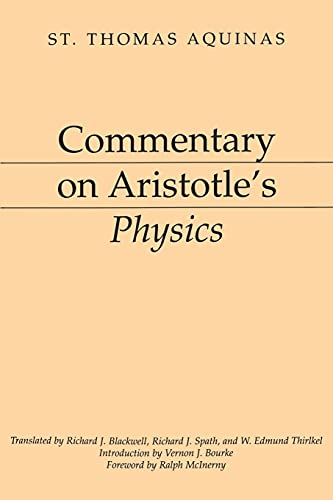 9781843715450: Commentary On Aristotle's Physics (Thoemmes Library of Classics & Ancient Philosophy)