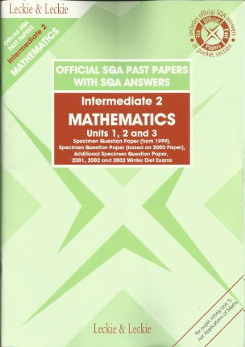 intermediate 2 maths past paper Amazoncouk: past papers gcse 1-36 of 298 results for past papers gcse maths  units 1, 2 & 3 intermediate 2 sqa past papers 2010 resources welsh for adults.