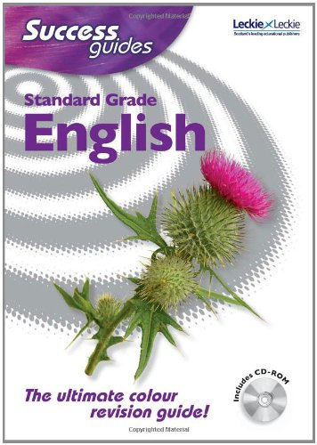9781843721734: Standard Grade English (Success Guides) [Book and CD-ROM]