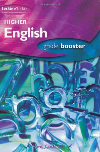9781843722595: HIGHER ENGLISH GRADE BOOSTER: How to achieve your best (Grade Booster for SQA Exams)